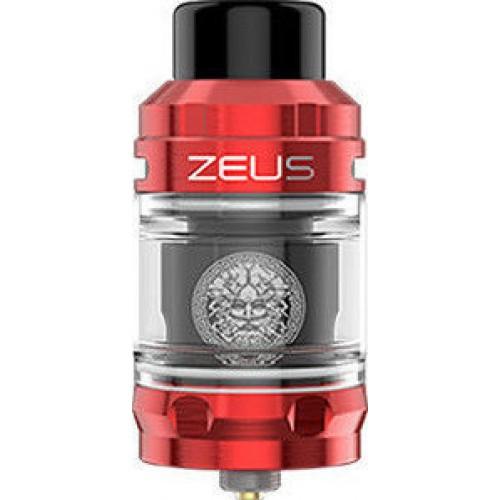 Geekvape Zeus Sub Ohm Tank 2ml TPD Ατμοποιητής Red