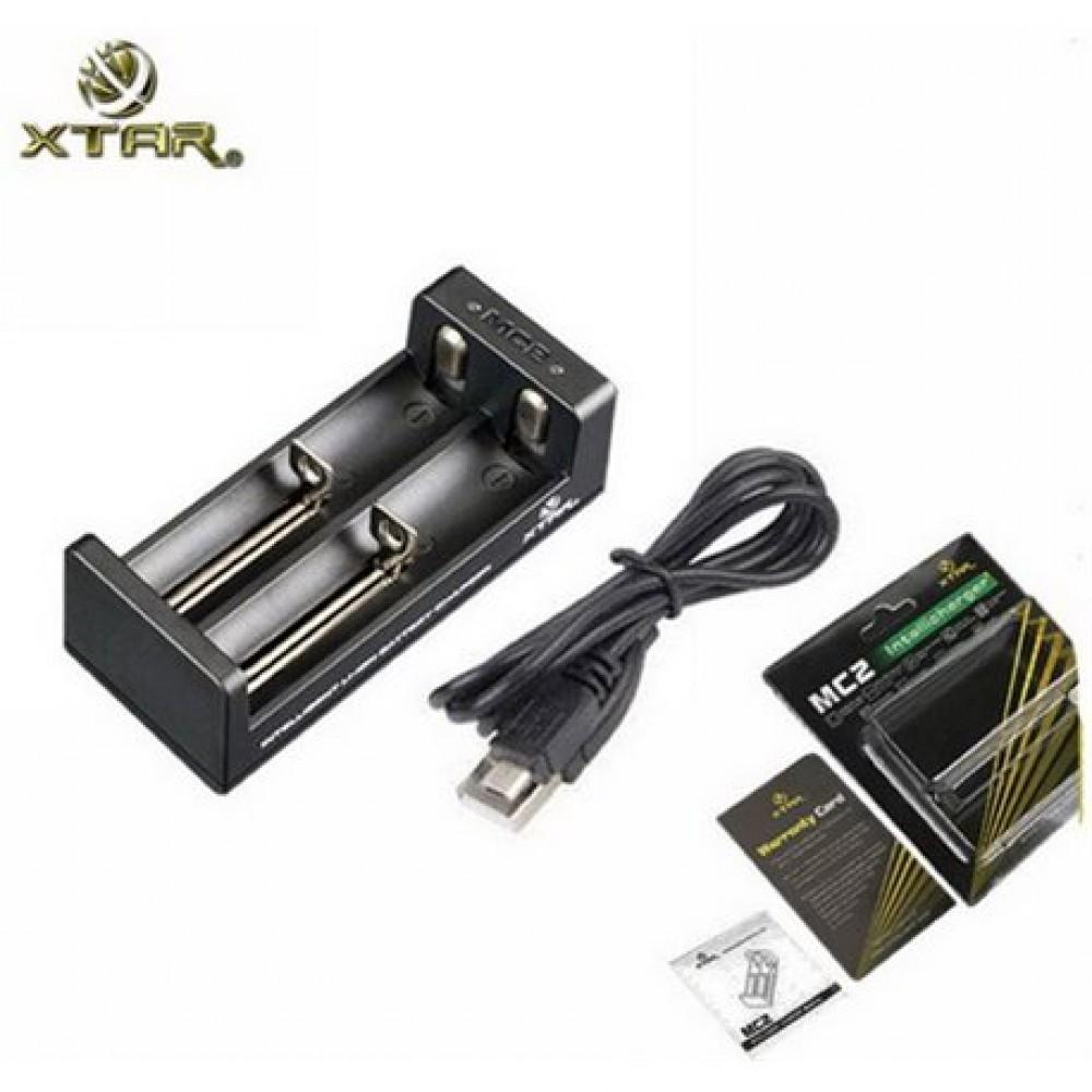 XTAR MC2 Φορτιστής μπαταριών Μπαταρίες - Φορτιστές
