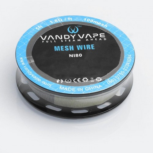 Vandy Vape Mesh Wire N80 5ft. 1.8Ω  ft  100mesh