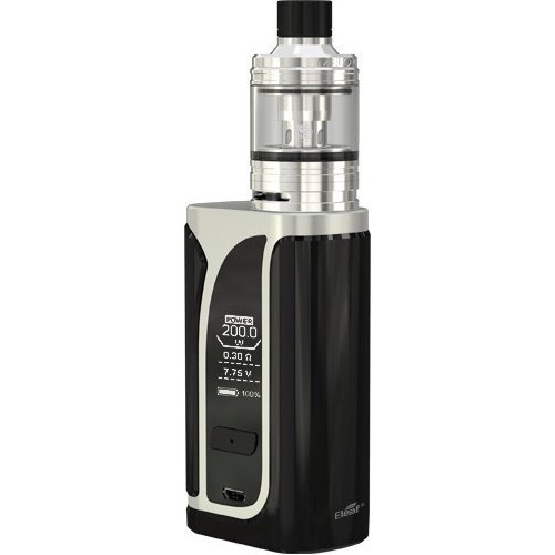 Eleaf iKuu i200 4600mah with Melo 4 D22 2ml Kit Silver