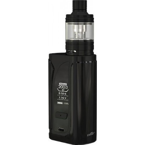 Eleaf iKuu i200 4600mah with Melo 4 D22 2ml Kit Black