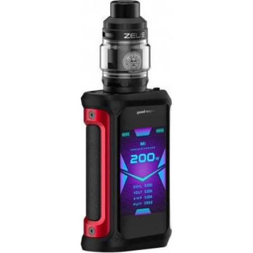 Geekvape Aegis X Zeus Kit 200W Red Black