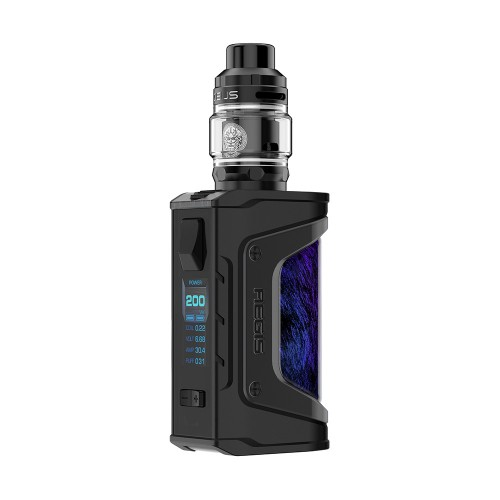 Geek Vape Aegis Legend 200W Zeus Subhom Tank Kit Black Blue