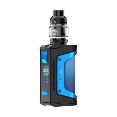 Geek Vape Aegis Legend 200W Zeus Subhom Tank Kit Light Blue