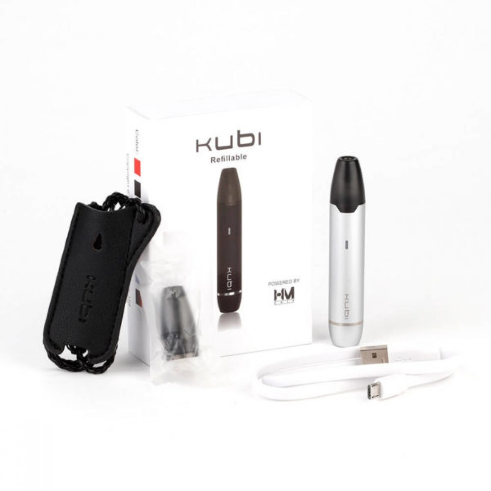 Hotcig Kubi Refillable Pod Starter Kit 550mah Ηλεκτρονικό Τσιγάρο