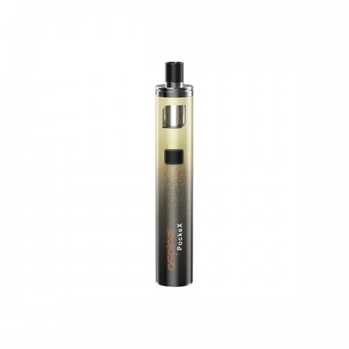 Aspire PockeX  Anniversary Edition 1500mah 2ml Gold Gradient