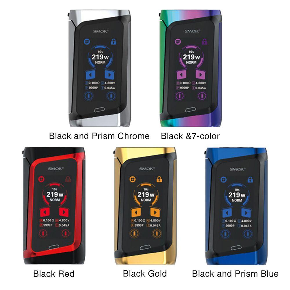 Smok Box Mod Morph 219w   Prism Chrome And Black