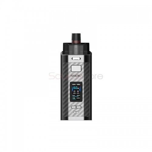 Smok Rpm160 Pod Mod Kit 160W Silver Carbon Fiber