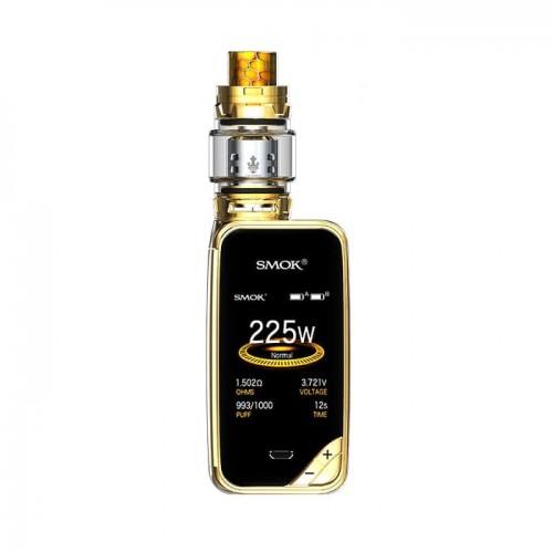 Smok X-Priv 225W with TFV12 PRINCE kit Prism Gold