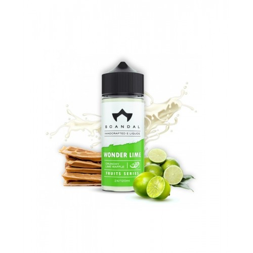 Wonder Lime Big Scandal Flavour Shot 120ml