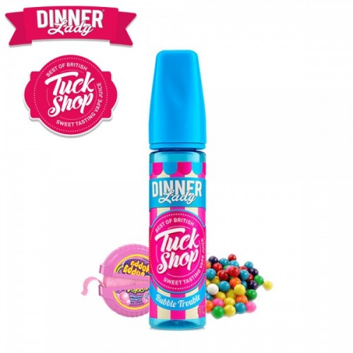 Bubble Trouble Dinner Lady TuckShop Flavour Shot 60ml
