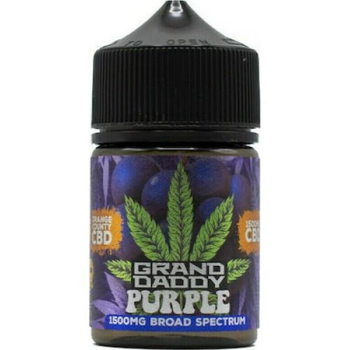 Orange County Grandaddy Purple CBD: 1500mg 50ml