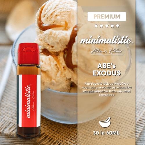 Abe's Exodus Minimalistic Flavour Shots 30/60ml