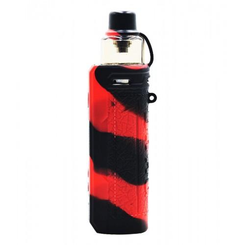 Voopoo Drag S Θήκη Σιλικόνης Black Red